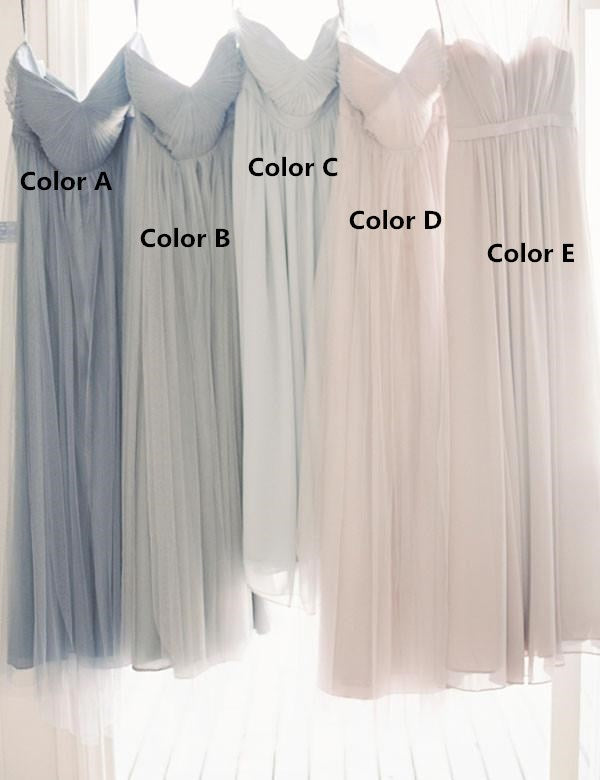 Fashion Bridesmaid Dress,Long Bridesmaid Dress,Chiffon Bridesmaid Dress,Sweetheart Bridesmaid Dress, A-line Bridesmaid Dress