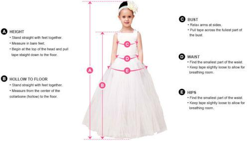 Long New Arrive Scoop Neckline A-Line Flower Girl Dresses, FW05