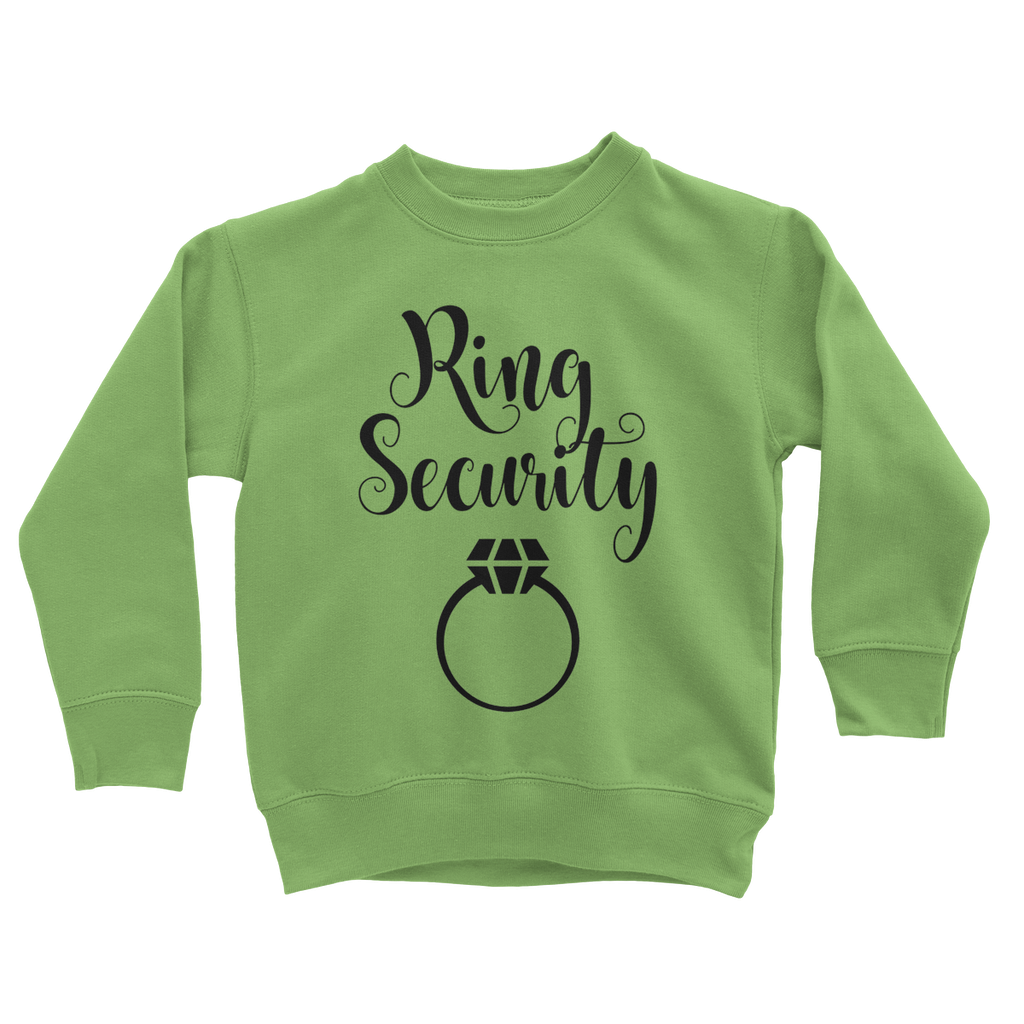 Kids Ring Security Sweatshirt