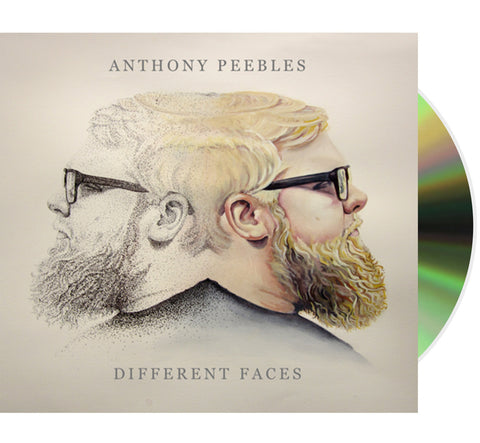 Anthony Peebles 'Different Faces' (Compact Disc + Instant Digital Delivery)