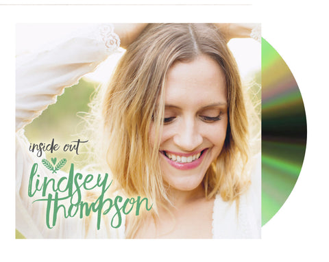 Lindsey Thompson 'Inside Out' (Compact Disc + Digital Album)