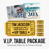 Tim Jackson Album Release Show (VIP Package)