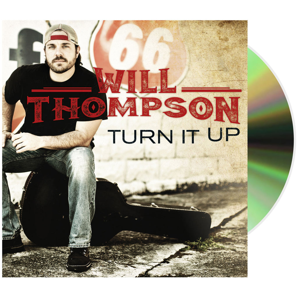 Will Thompson 'Turn it Up' (Compact Disc + Digital)