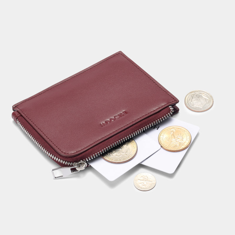 Zippered Slim Wallet