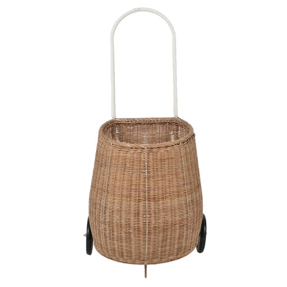 panier en rotin naturel big buggy olli ella