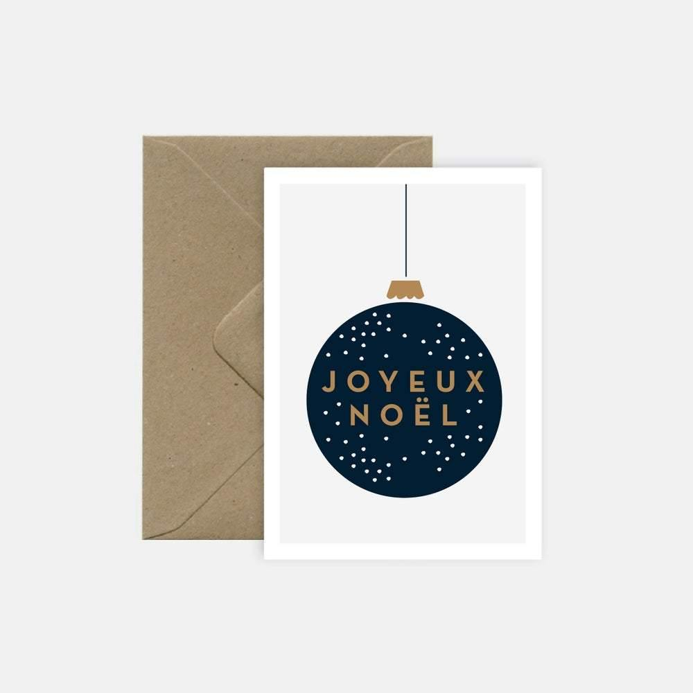carte de Noël michoucas design