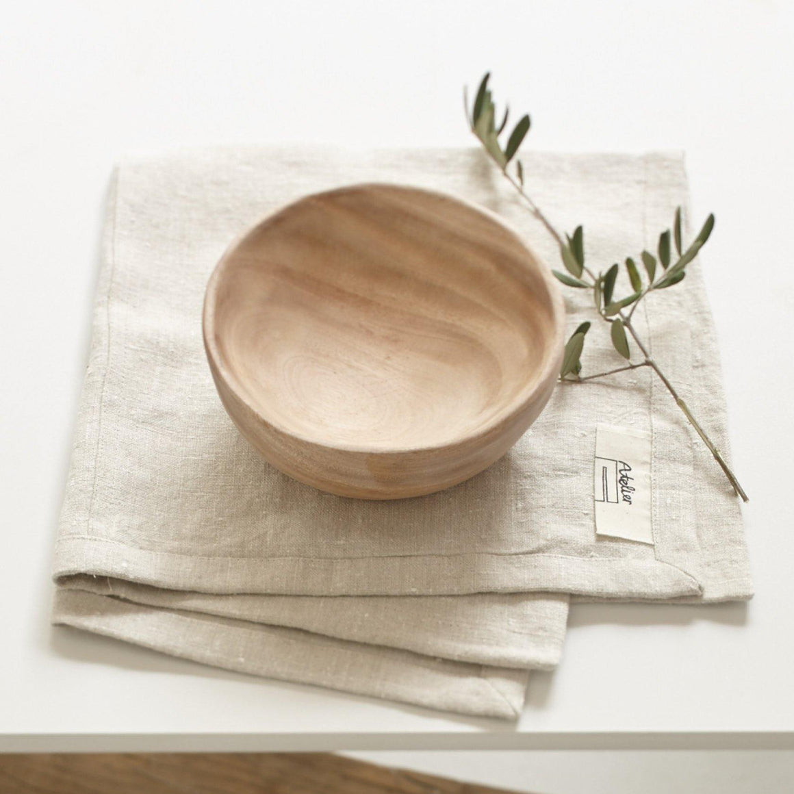 bol en bois de margousier fairtrade made in India Sukha