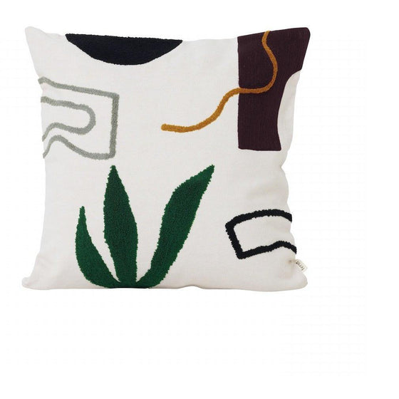 coussin mirage broderies ferm living