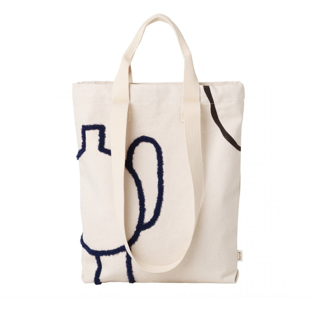 tote bag mirage coton biologique ferm living