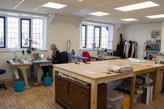 The Workroom Where all The Fashion Parade's Designs are Made