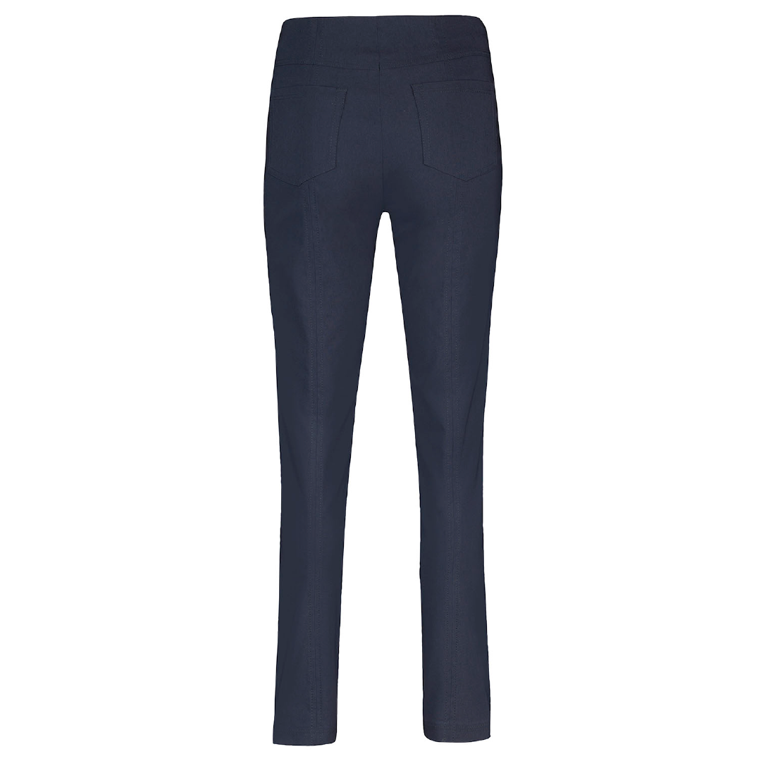 Robell Bella Full Length Navy Trousers