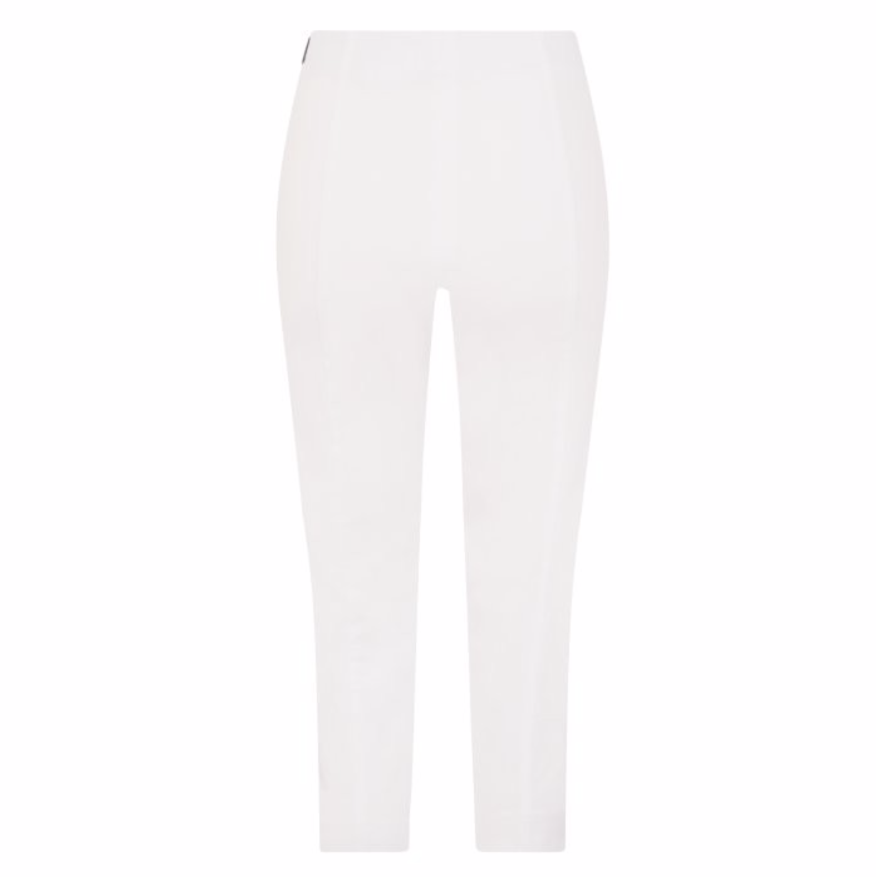 Robell Marie Cropped White Trousers