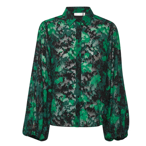 InWear Panya Green Blouse