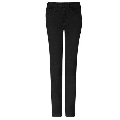 NYDJ Marilyn Straight Jeans Black