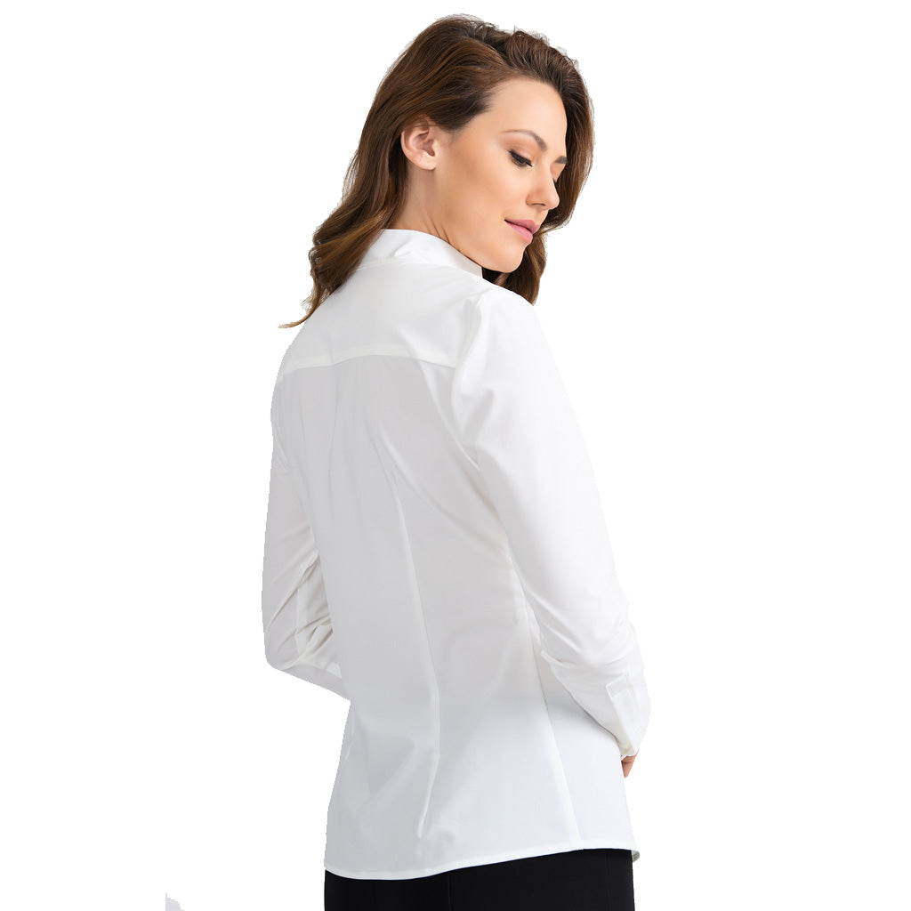 Joseph Ribkoff Fitted White Shirt 201281