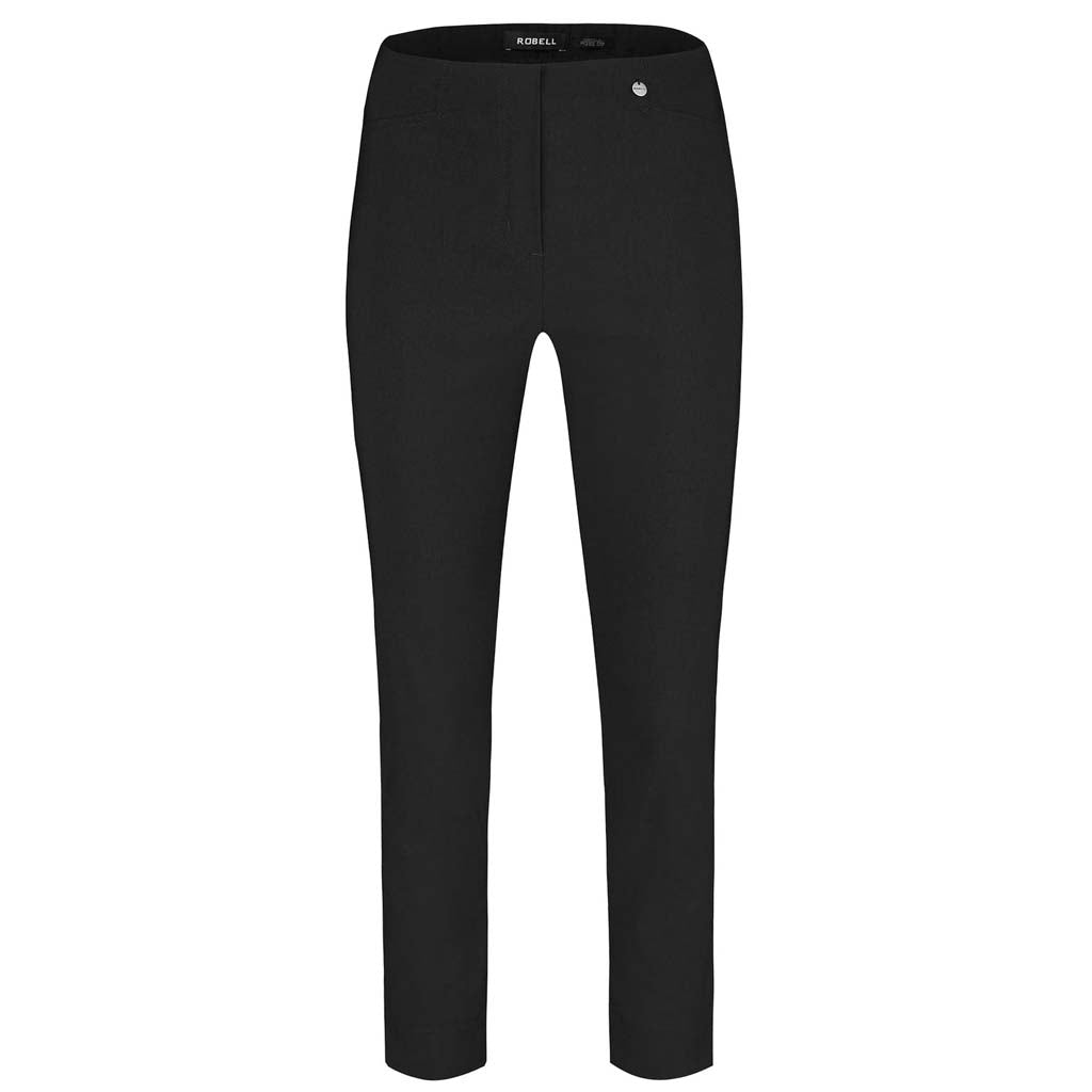 Robell Rose 7/8ths Black Trousers