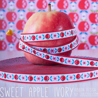 SWEET APPLE Yvory Webband 1 Meter