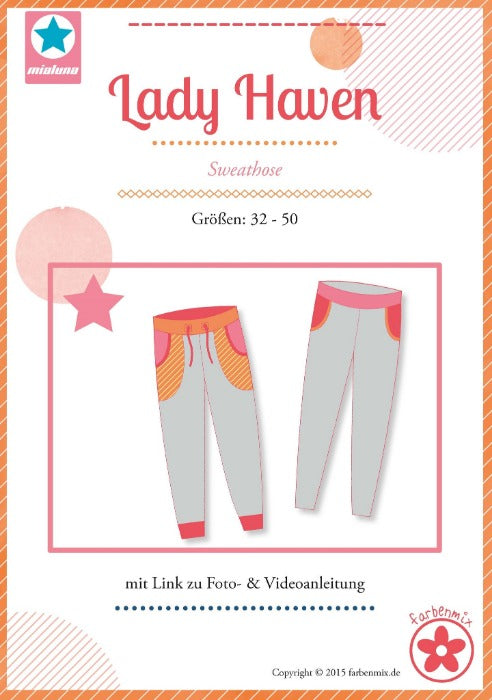 Lady HAVEN Sweathose Gr. 32-50