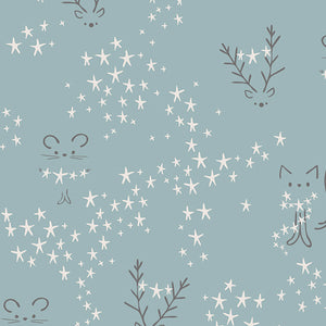 Eco Super Soft Baumwolle 'Little Friends'
