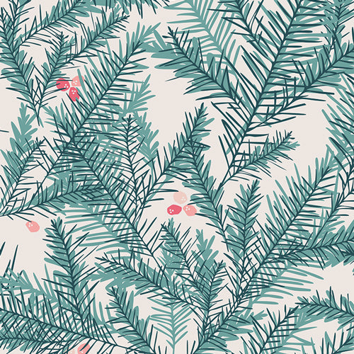 Eco Super Soft Baumwolle 'Yew Trees'