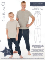 Sweat Pants Kids & Men K92 - M56