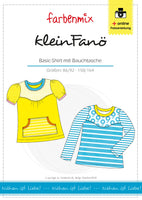 kleinFanö Kinder Basic Shirt Gr. 86/92 - 158/164
