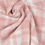 Pancho Check Jackenstoff Old Rose (€28,90/m.*)