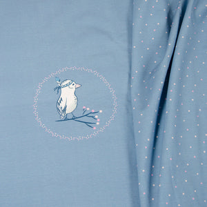 Winter Bird Panel Jersey (€22,90/m.*)