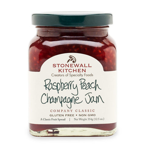 Raspberry Peach Champagne Jam-Palm & Pine Party Co.