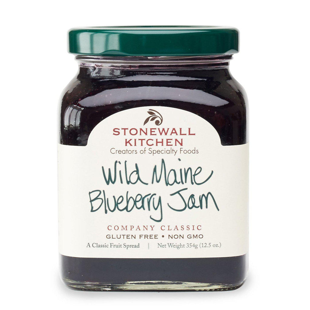 Wild Maine Blueberry Jam-Palm & Pine