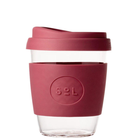 SoL 12oz Reusable Cup - Radiant Rose-Palm & Pine Party Co.