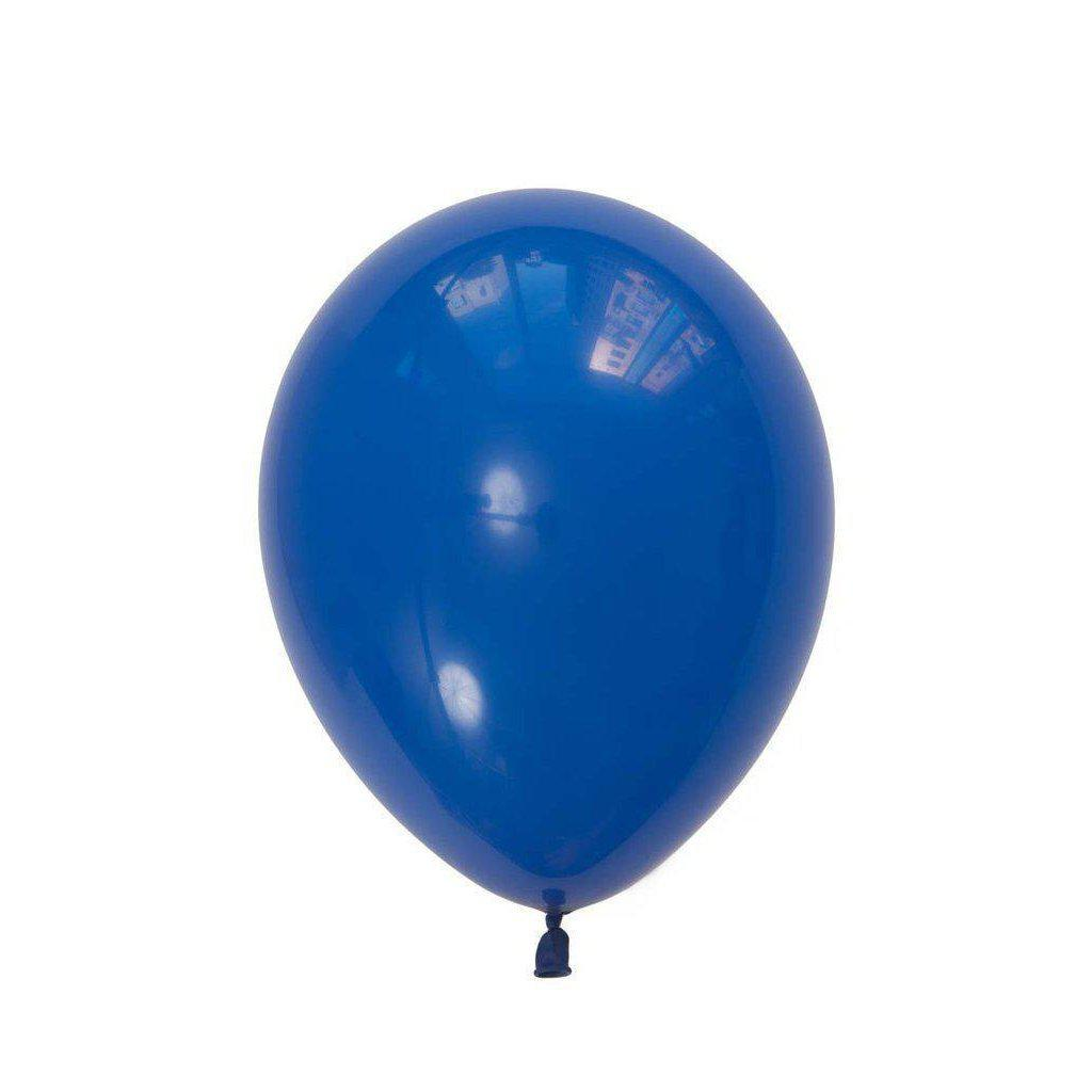28cm Balloon Dark Blue, Inflated-Palm & Pine Party Co.