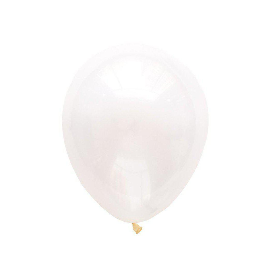 28cm Balloon Diamond Clear, Inflated-Palm & Pine Party Co.