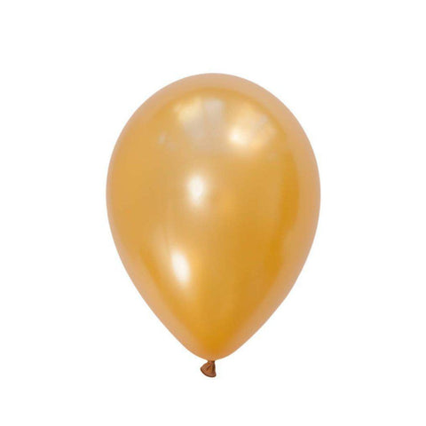 28cm Balloon Metallic Gold-Palm & Pine Party Co.