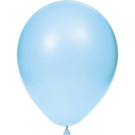 28cm Balloon Pastel Blue, Inflated-Palm & Pine Party Co.