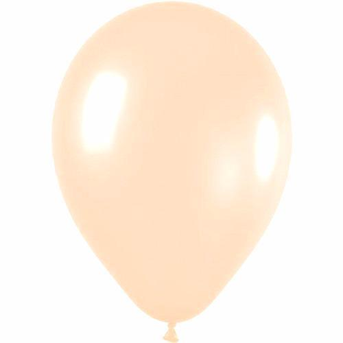 28cm Balloon Pastel Peach-Palm & Pine Party Co.