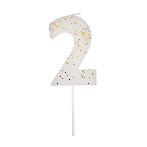 Number 2 Candle-Palm & Pine Party Co.