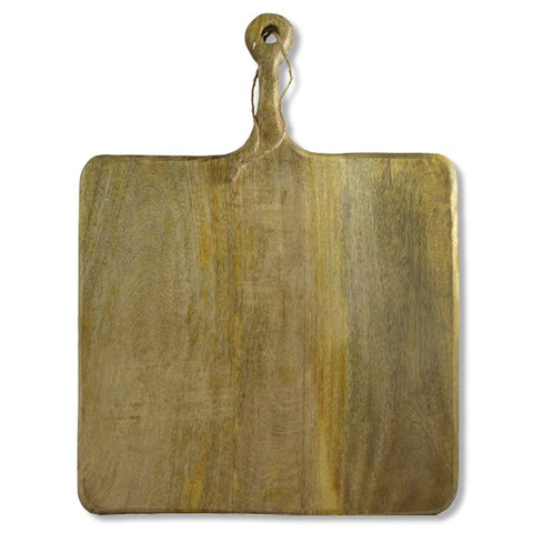 Square Mango Wood Board-Palm & Pine Party Co.