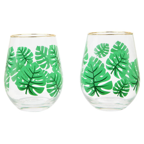 Monteverde Stemless Cocktail Glasses-Palm & Pine Party Co.