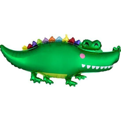 Mylar Crocodile Balloon-Palm & Pine Party Co.