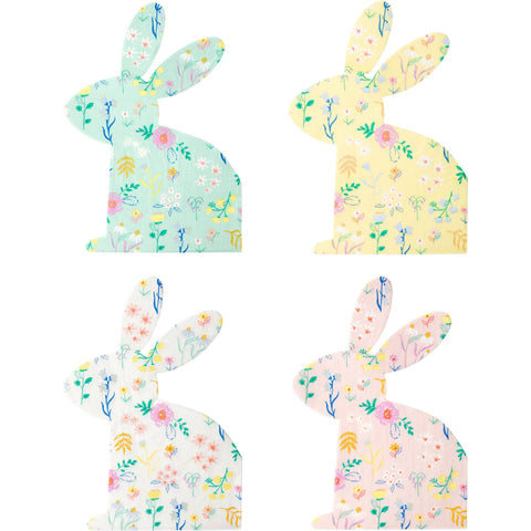 Wildflower Bunny Napkin