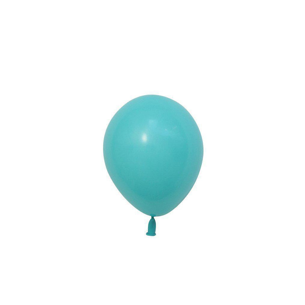 "5"" Mini Balloons Caribbean Blue-Palm & Pine Party Co."