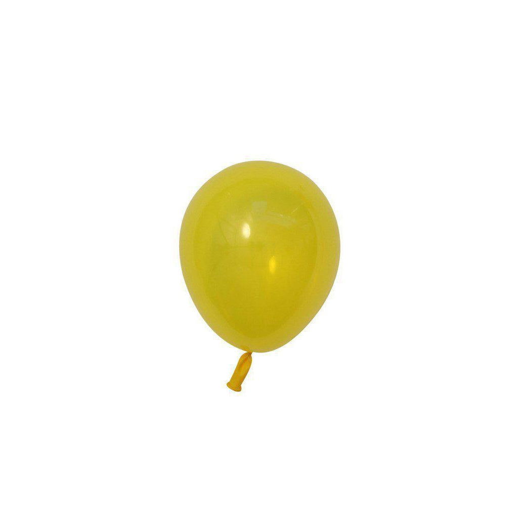 "5"" Mini Balloons Citrine-Palm & Pine Party Co."