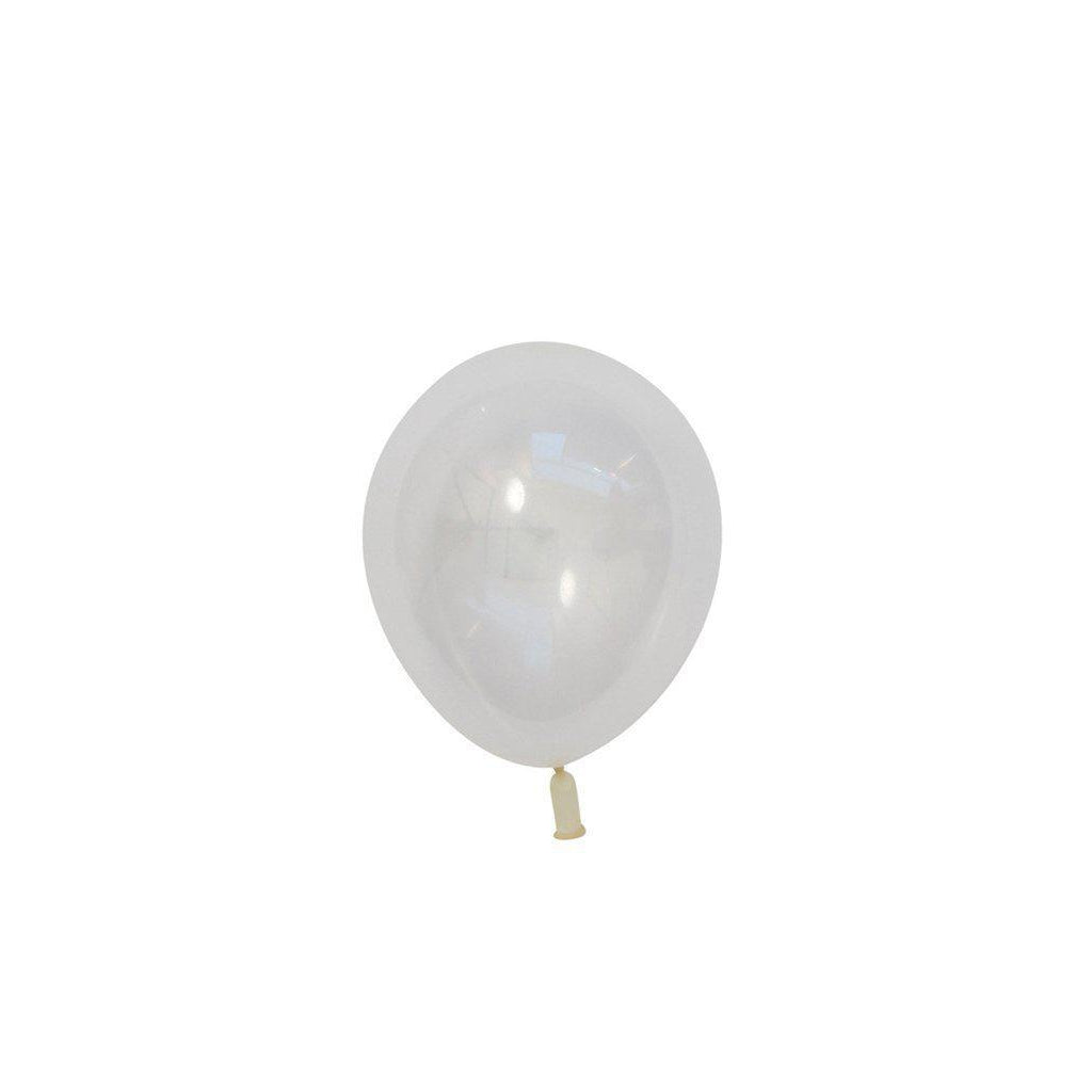 "5"" Mini Balloons Clear-Palm & Pine Party Co."