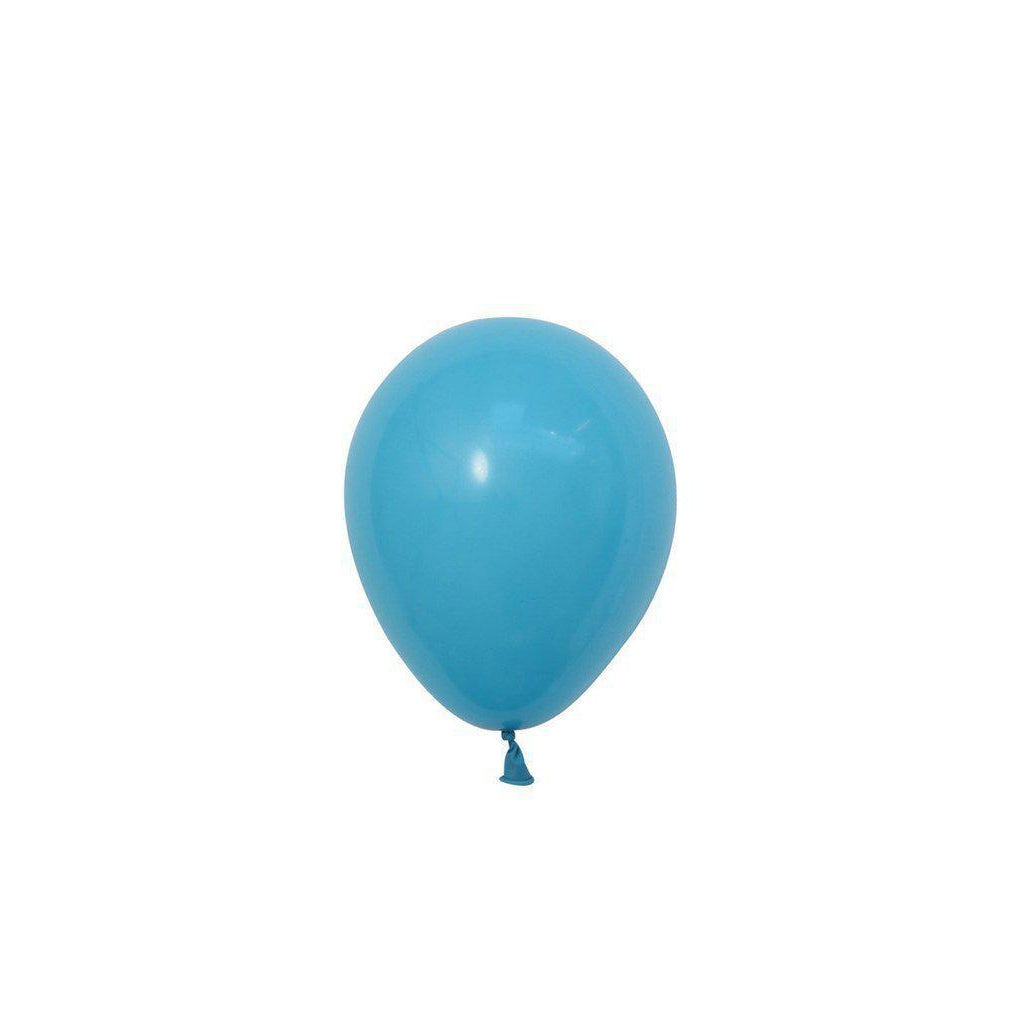 "5"" Mini Balloons Robins Egg Blue-Palm & Pine Party Co."