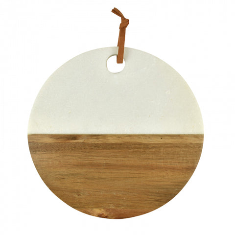 Wylie Marble Board-Palm & Pine