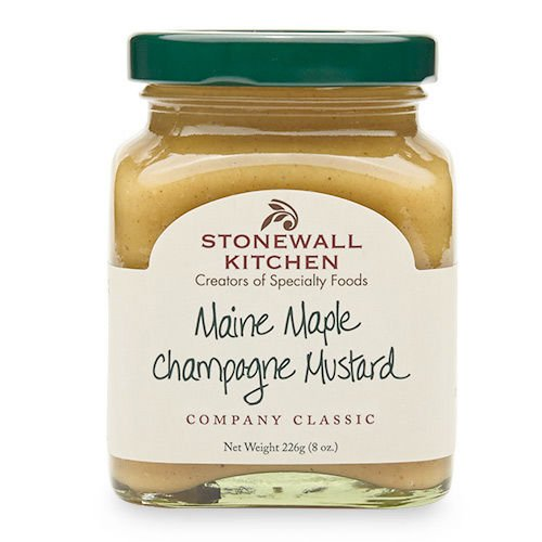 Maine Maple Champagne Mustard-Palm & Pine