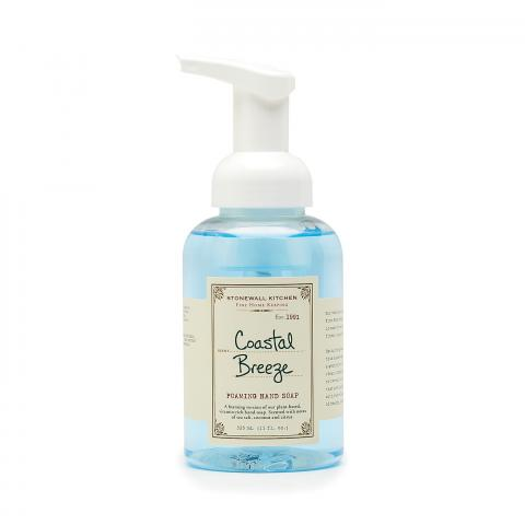 Coastal Breeze Foaming Soap-Palm & Pine Party Co.