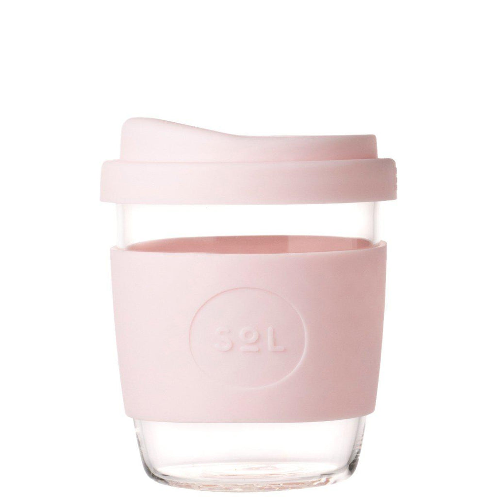 SoL 8oz Reusable Cup - Perfect Pink-Palm & Pine