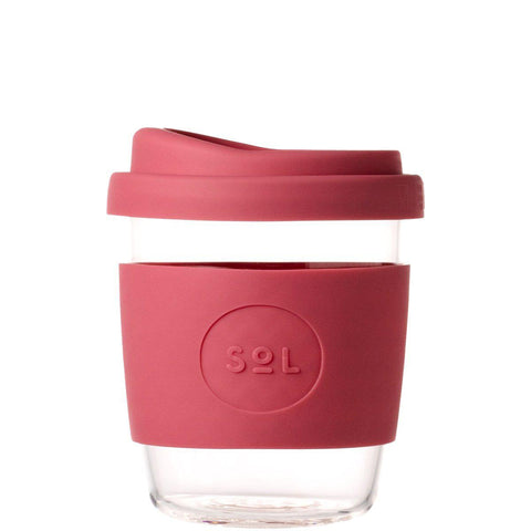 SoL 8oz Reusable Cup - Radiant Rose-Palm & Pine